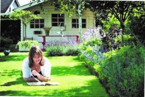 Foto bij persbericht onderhoudsarme levende tuin