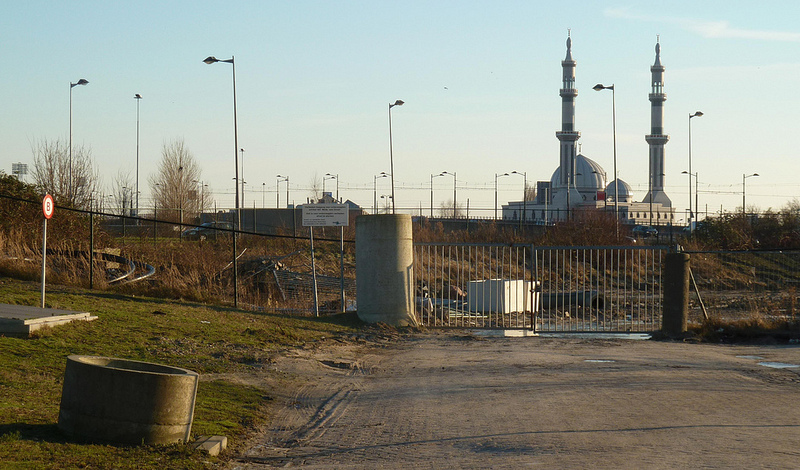 Grootste moskee van Nederland. Beeld via Flickr
