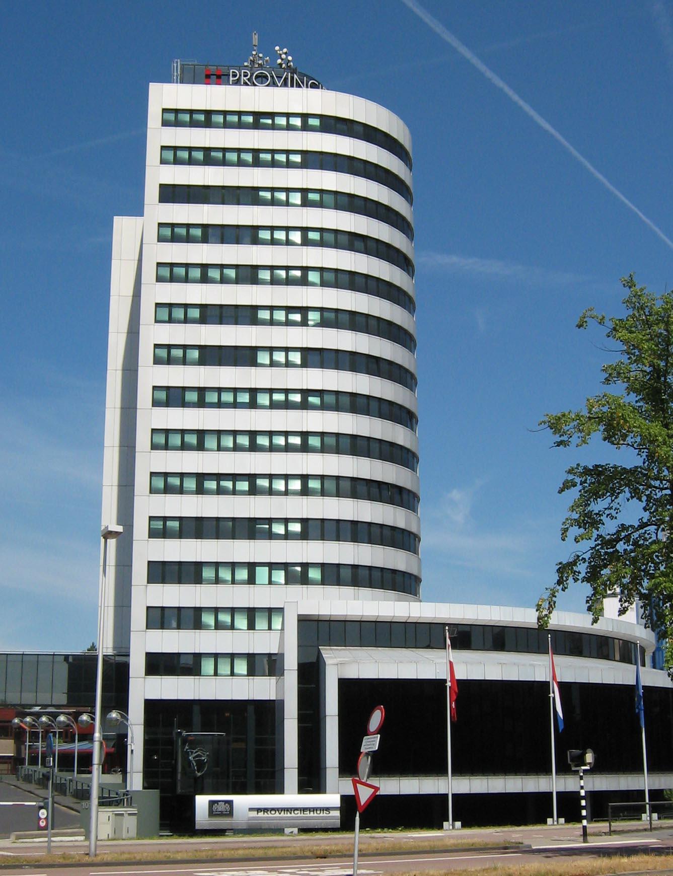 Provinciehuis Utrecht. Beeld van Deelnemer8 via Wikipedia