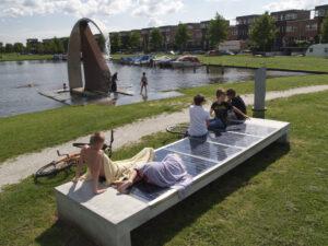 Solarmeubilair van Ontwerpbureau Fix.