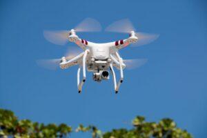 drone in verkeer