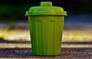 Groene vuilnisbak vangt meer afval